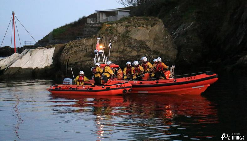 Looe RNLI Atlantic 85 training