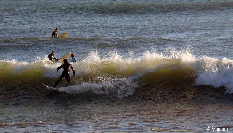 24th December 2015 - Surfing in Looe © Ian Foster / fozimage