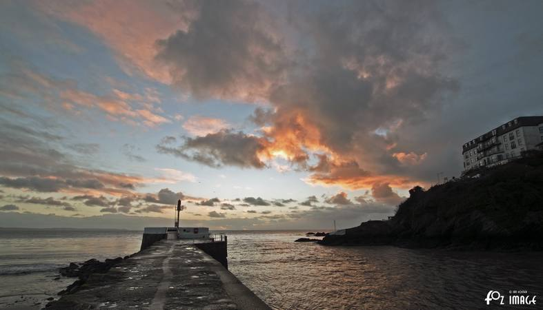 8th January 2016 - Sunrise in Looe - © Ian Foster / fozimage