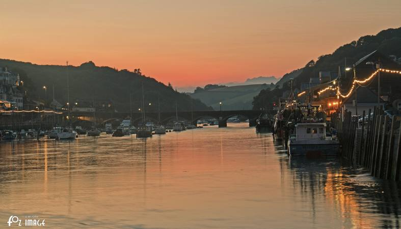 2nd July 2015 - Looe river at dusk © Ian Foster / fozimage