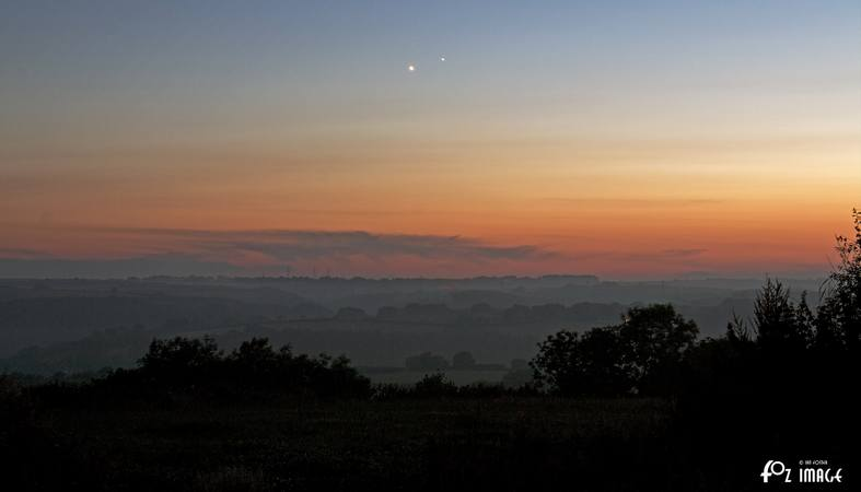 2nd July 2015 - Jupiter / Venus conjunction © Ian Foster / fozimage