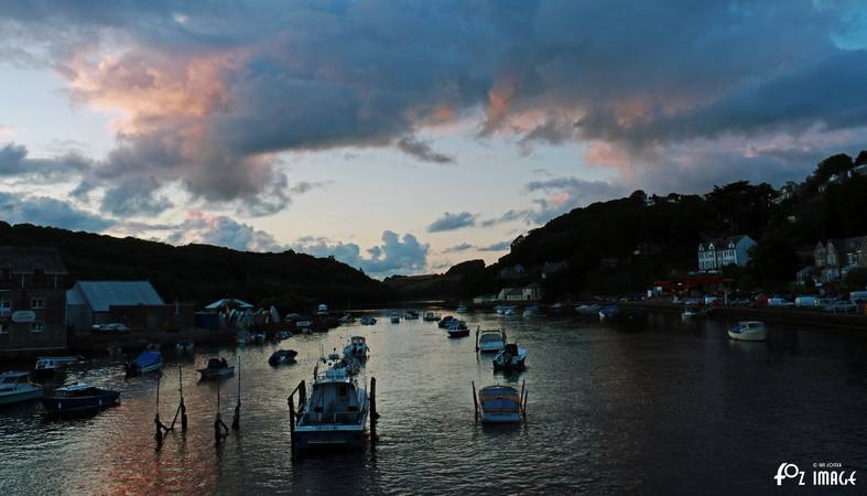 22nd July 2015 - Dusk falls over Looe © Ian Foster / fozimage