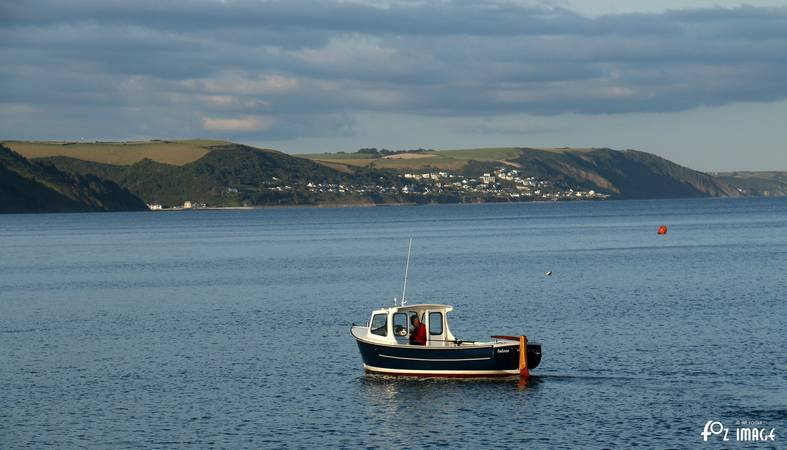 31st July 2015 - Boats in Looe bay © Ian Foster / fozimage