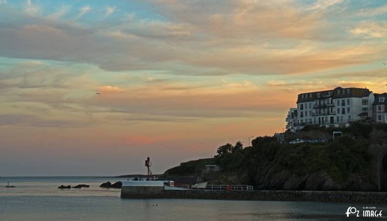 31st July 2015 - Dusk falls over Looe © Ian Foster / fozimage