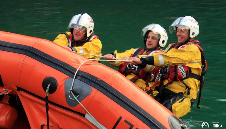 RNLI Capsize boat training