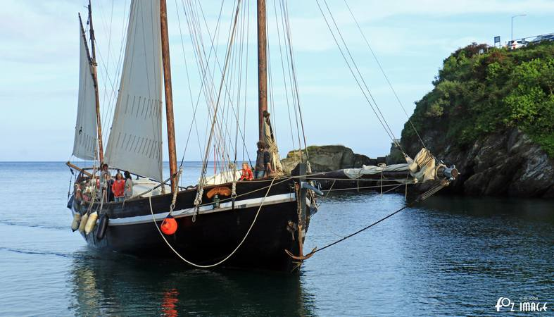 17th June 2015 - Looe Lugger Regatta - Grayhound - © Ian Foster / fozimage