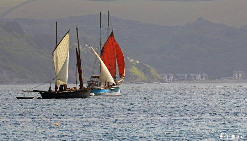 21st June 2015 - Looe Lugger Regatta - Rose of Argyll © Ian Foster / fozimage