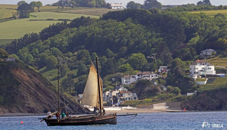 21st June 2015 - Looe Lugger Regatta - FY233 Guide Me © Ian Foster / fozimage