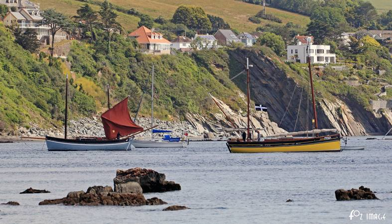 21st June 2015 - Looe Lugger Regatta - FY221 Our Boys © Ian Foster / fozimage