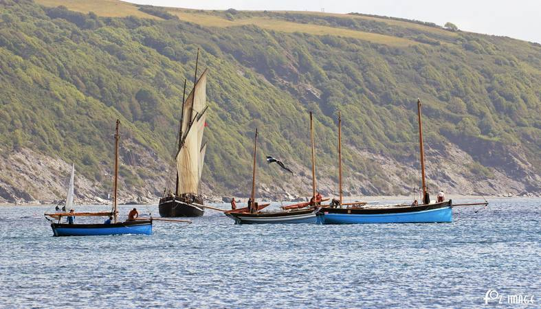 21st June 2015 - Looe Lugger Regatta - Alert of Fowey © Ian Foster / fozimage