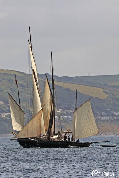 21st June 2015 - Looe Lugger Regatta © Ian Foster / fozimage