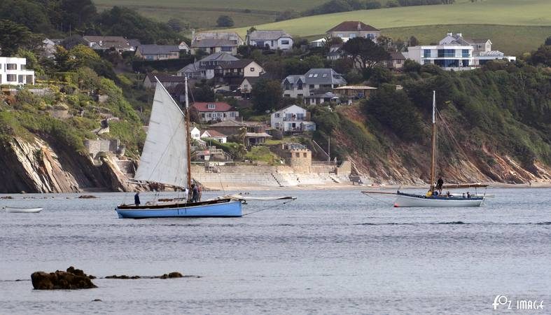 21st June 2015 - Looe Lugger Regatta - Spinaway X and FY28 Elizabeth Mary © Ian Foster / fozimage