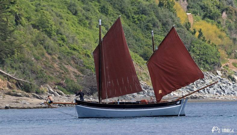 21st June 2015 - Looe Lugger Regatta - Spirit of Mystery © Ian Foster / fozimage