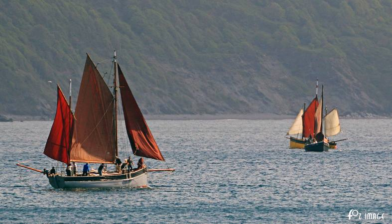 21st June 2015 - Looe Lugger Regatta - FY363 Guiding Star © Ian Foster / fozimage
