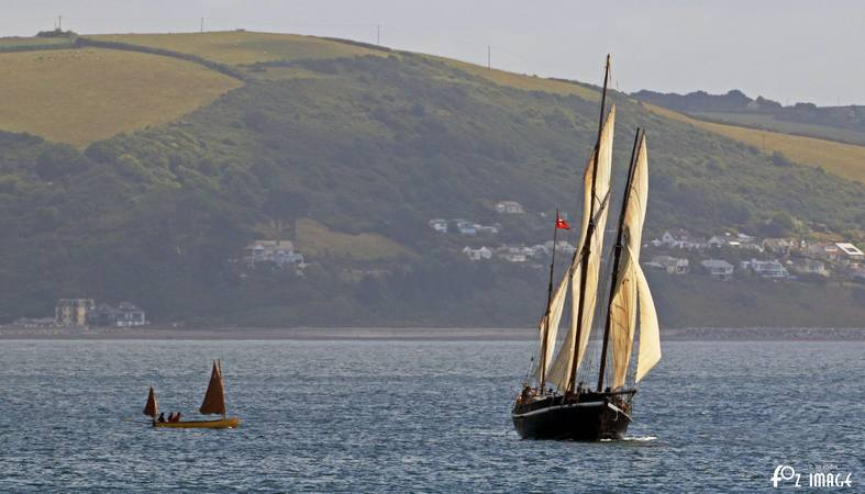 21st June 2015 - Looe Lugger Regatta - Grayhound © Ian Foster / fozimage