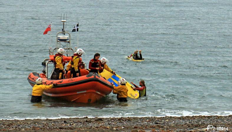 Looe Training with RNLI Lifeguards on Seaton beach