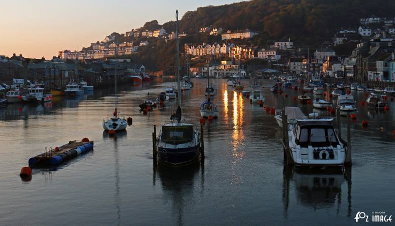 12th October 2015 - Sunrise over Looe river © Ian Foster / fozimage