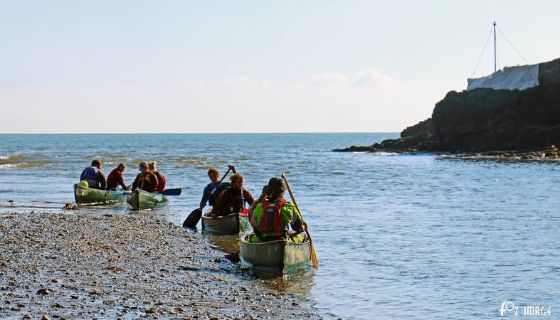 13th October 2015 - Canoes in Looe river © Ian Foster / fozimage