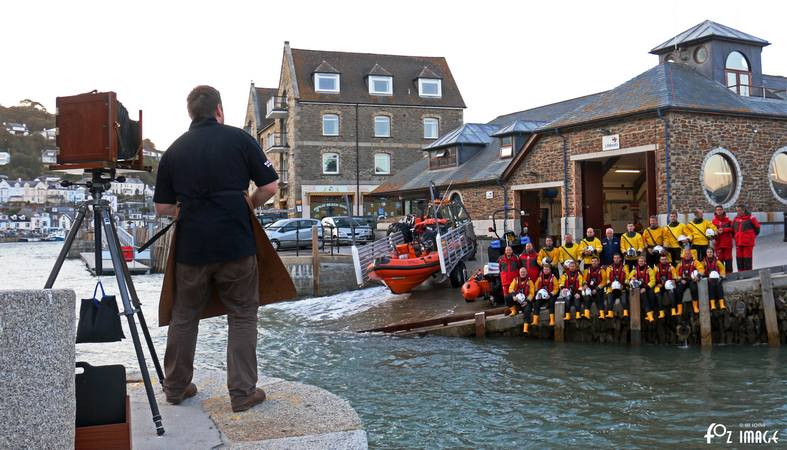 30th September 2015 - Looe RNLI crew with Jack Lowe © Ian Foster / fozimage
